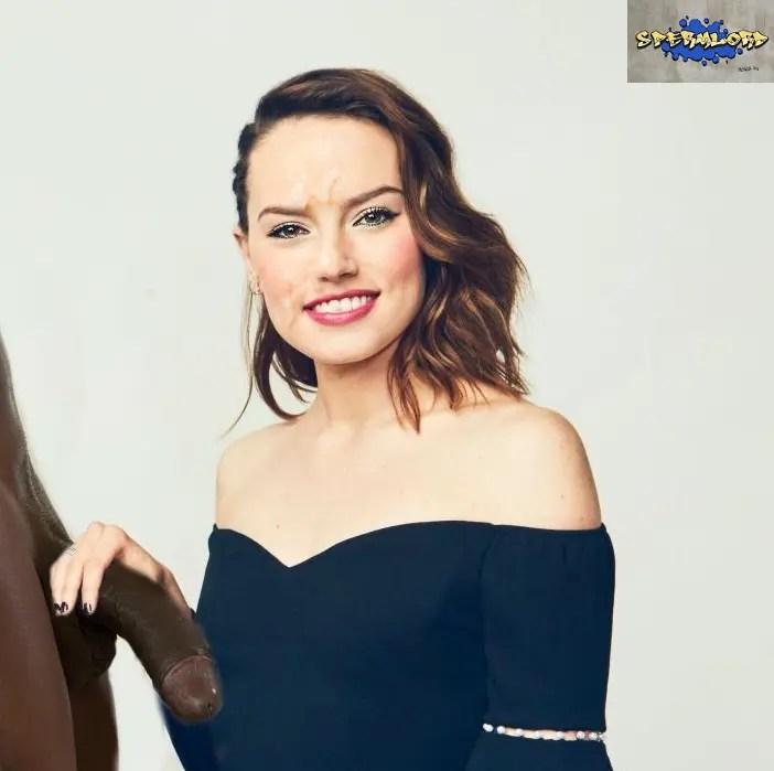 Black Cock Queens: Daisy Ridley - image  on https://blackcockcult.com