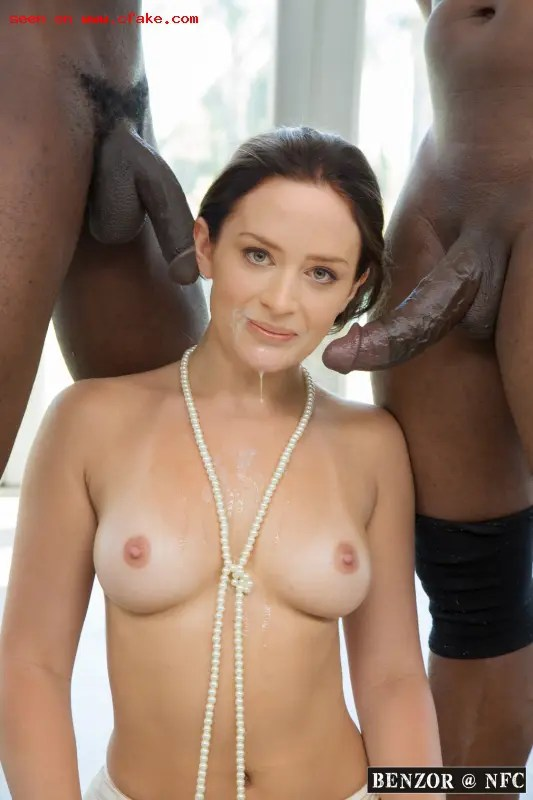 Black Cock Queens: Emily Blunt - image  on https://blackcockcult.com