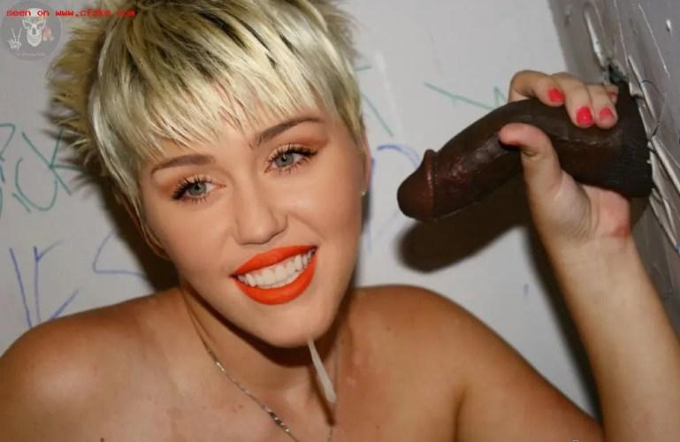Black Cock Queens: Miley Cyrus - image  on https://blackcockcult.com