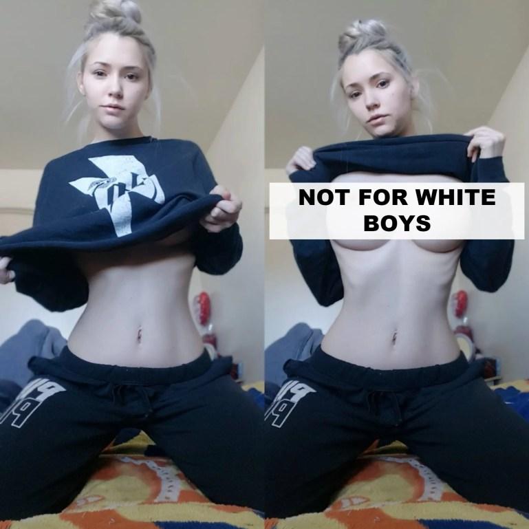 White Women and White Sissies - Caption Gallery - image  on https://blackcockcult.com
