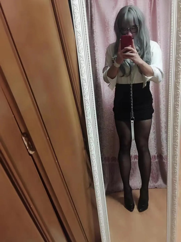 Feminized Sissy Minayi - image  on https://blackcockcult.com