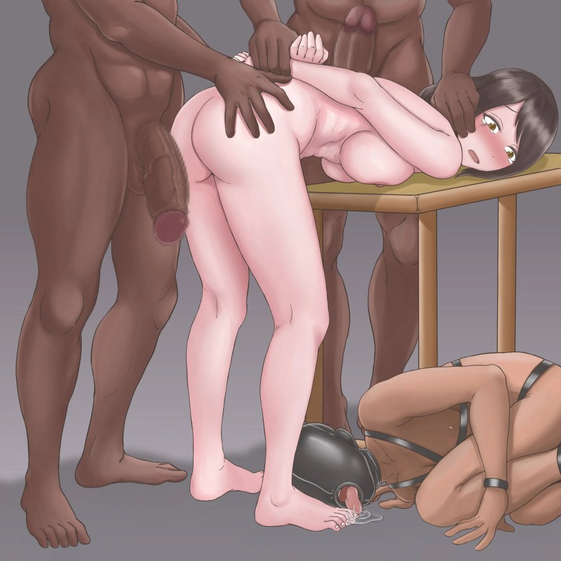 The Cuckold Hentai Artwork of Brokao - image  on https://blackcockcult.com