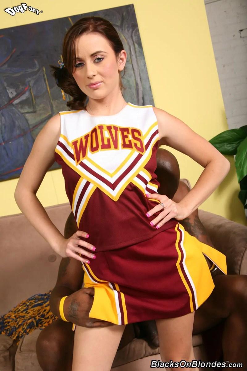 Black Cock Cheerleader Mae Meyers - image  on https://blackcockcult.com