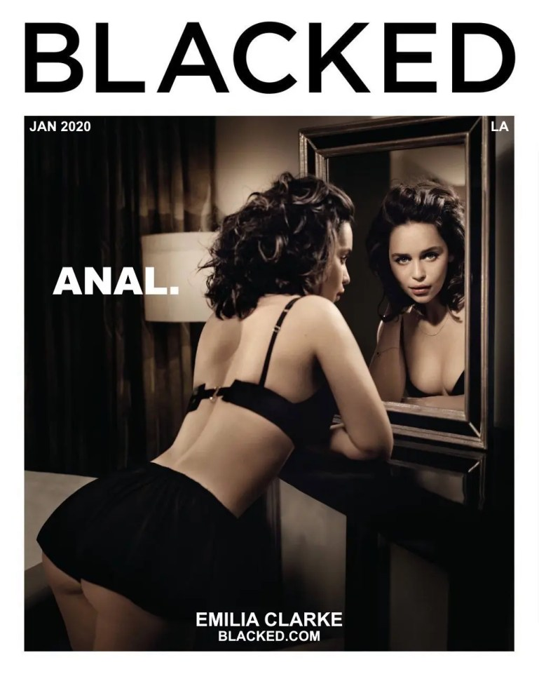 Emilia Clarke: Blacked - image  on https://blackcockcult.com