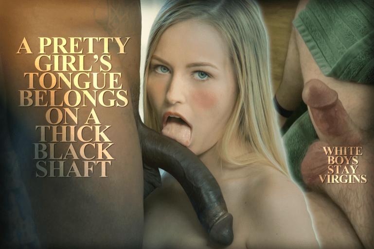 Leave Sex To The Real Men, Stay Virgins Whitebois - image  on https://blackcockcult.com