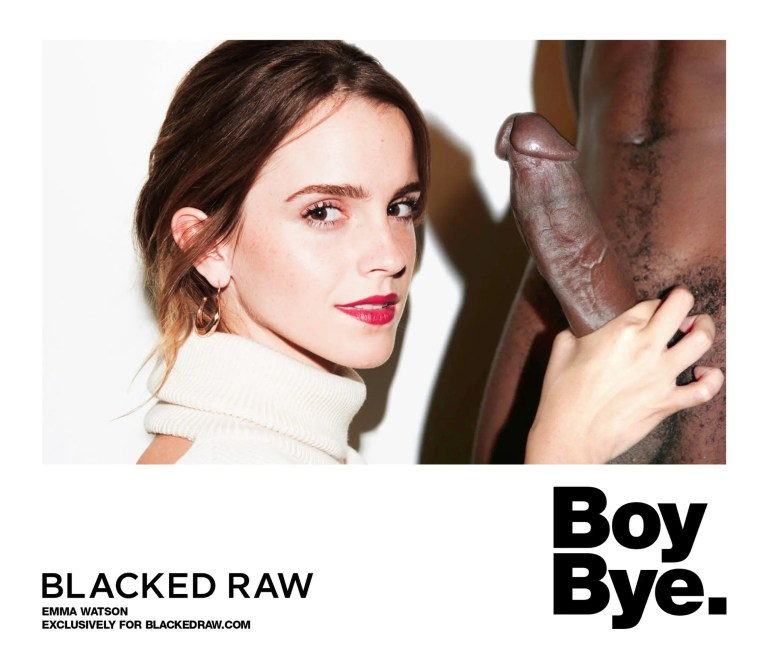 Blacked List: Emma Watson - image  on https://blackcockcult.com