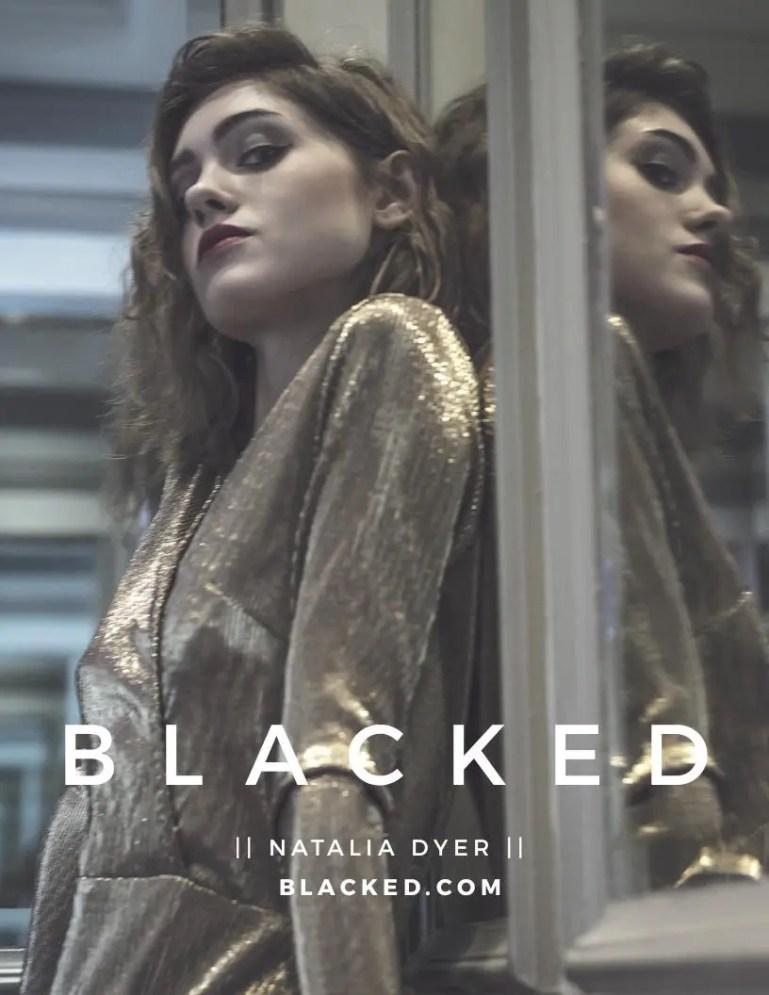 Blacked List: Natalia Dyer - image  on https://blackcockcult.com