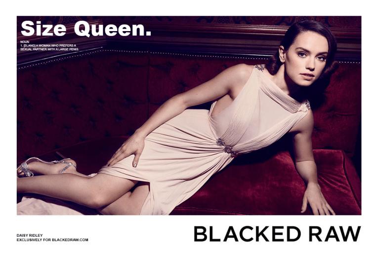 Blacked List: Daisy Ridley - image  on https://blackcockcult.com