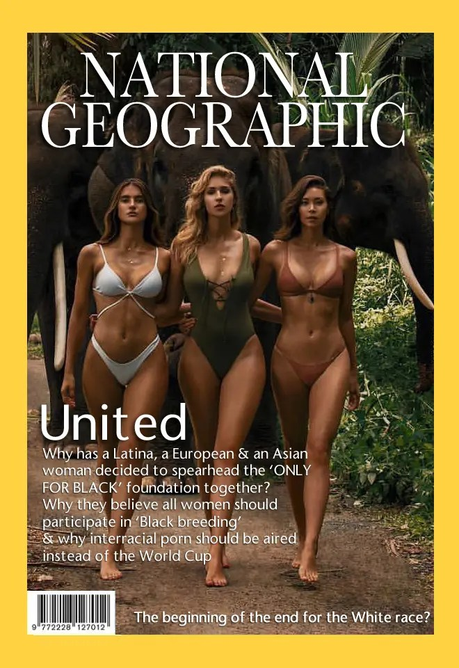 National Geographic Covers - image  on https://blackcockcult.com