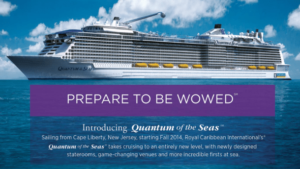 Quantum of the Seas Cruise Ship Prepared to be Wowed