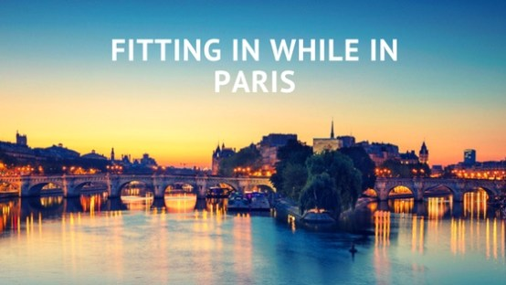 Fitting In While In Paris | Black Cruise Travel