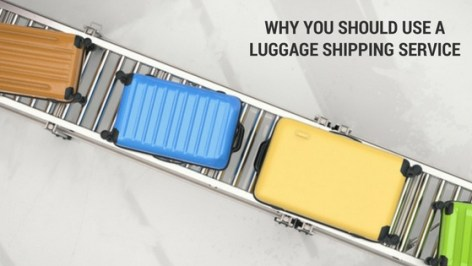 Why You Should Use A Luggage Shipping Service | Black Cruise Travel