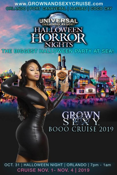 boo cruise banner | Black Cruise Travel