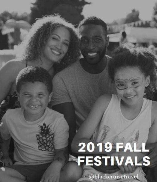 2019 fall festivals | Black Cruise Travel