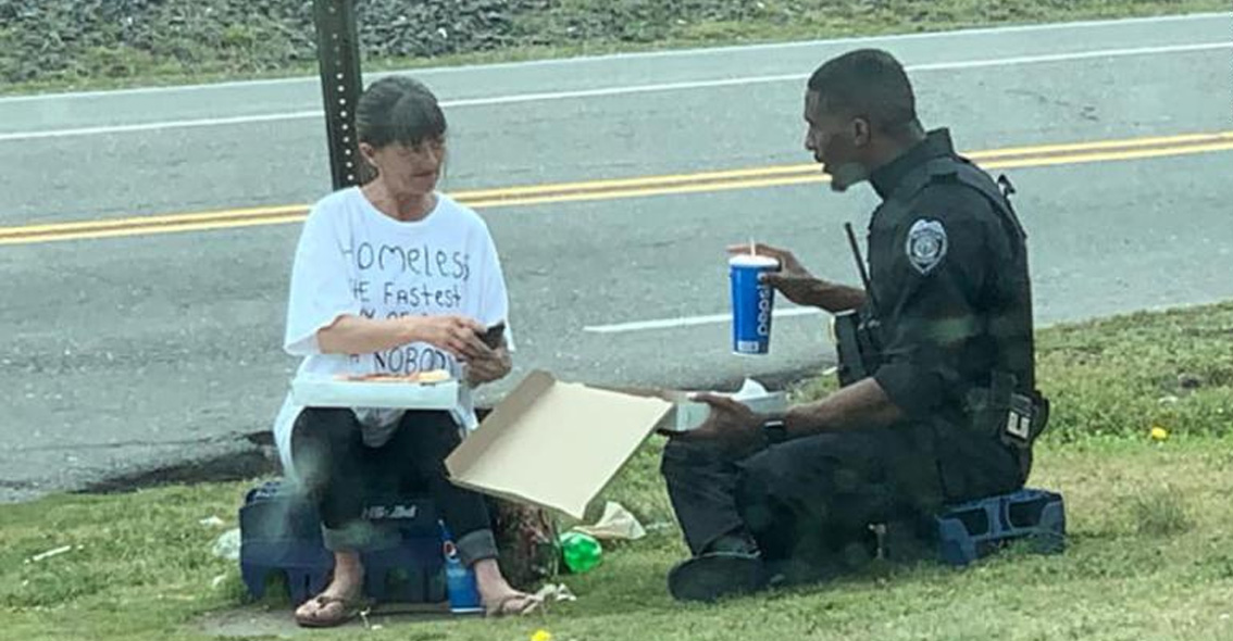 Pizza Delivery Man Honored by Police For Rescuing Girls