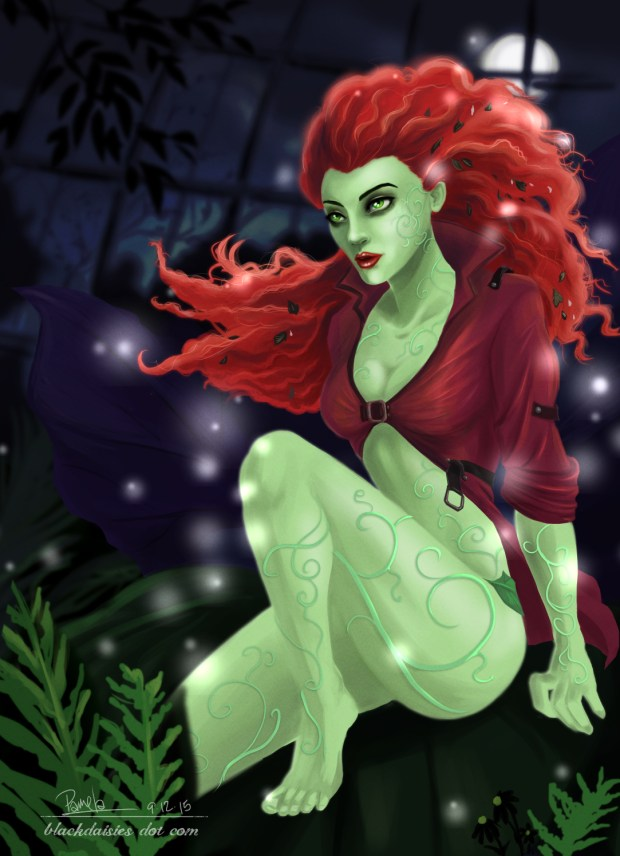 Poison Ivy Fan Art by Blackdaisies