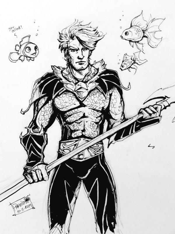 Day 11 - Aquaman / Injustice: Gods Among Us