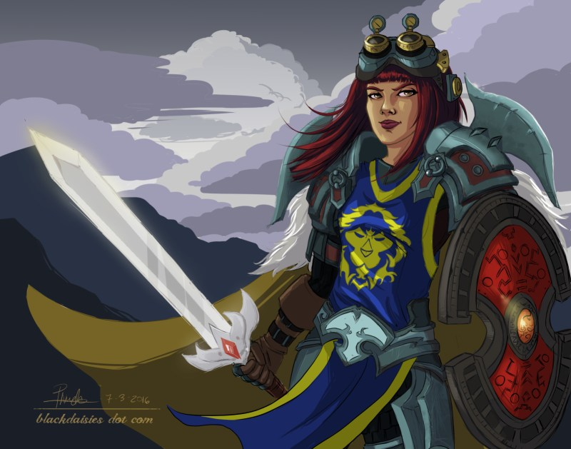 Defender of the Alliance by Blackdaisies