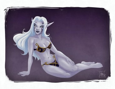 Night Elf Pinup