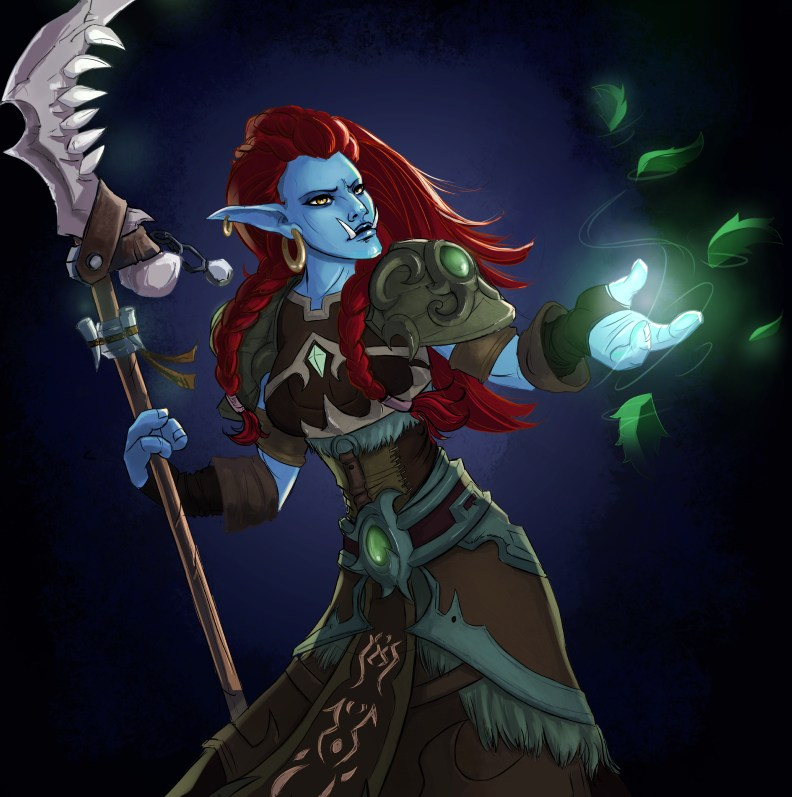 Vonjahi the troll druid