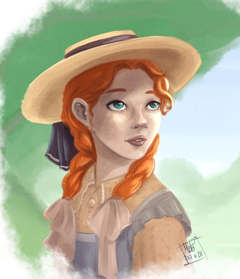 Anne of Green Gables by Blackdaisies