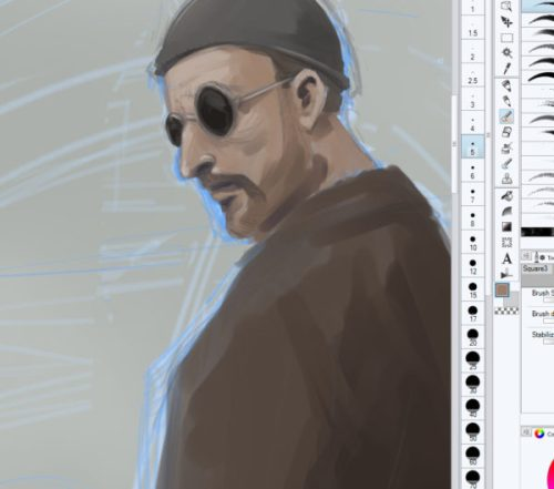 Leon work in progress