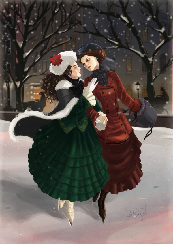 Christmas Waltz by blackdaisies