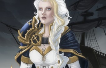 Daughter of the Sea Jaina Proudmoore fan art by Blackdaisies