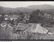 Admin area of 2-5th AGH at Bootless Bay Port Moresby PNG 1943