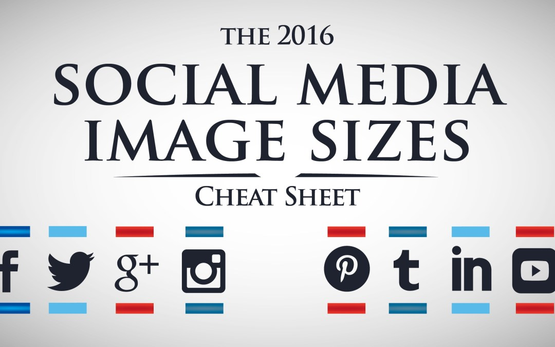 Social Media Image Sizes – A Guide