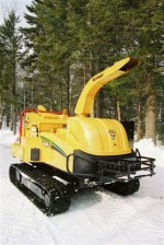 The TX chipper is a remote controlled track machine that helps create beautiful trails