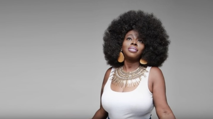 Topless Angie Stone naked photo 2017