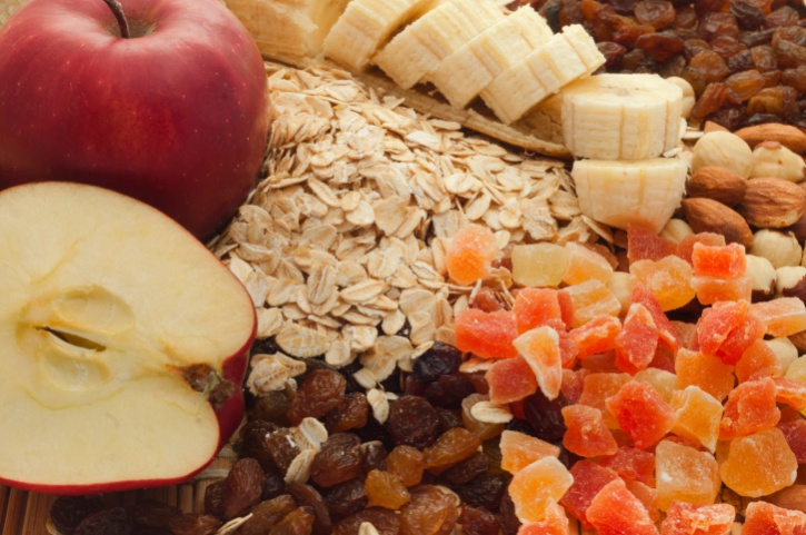 fiber fruit oats