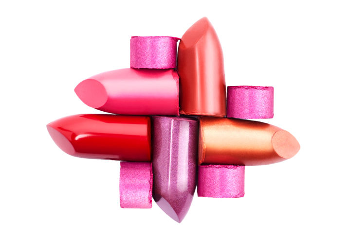 various lipsticks