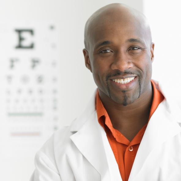 man eye doctor