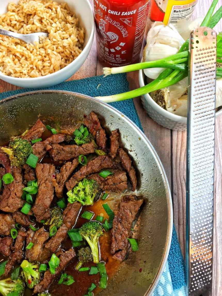 mongolian beef broccoli