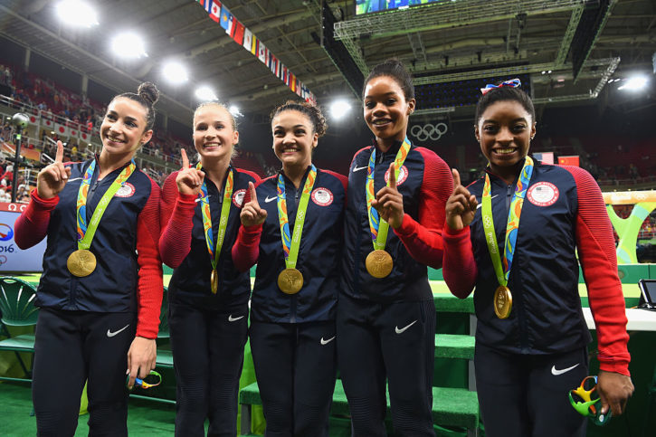 Team USA gold medalists