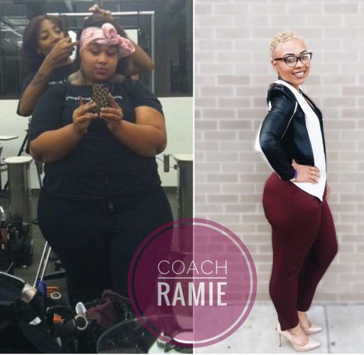 Ramie Reed weight loss