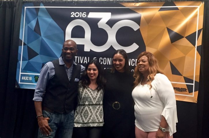 Ashley Reid A3C conference 2016