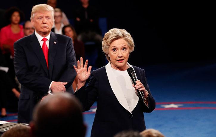 2016 Trump Clinton presidential debate