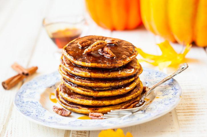 pumpkin pankcakes