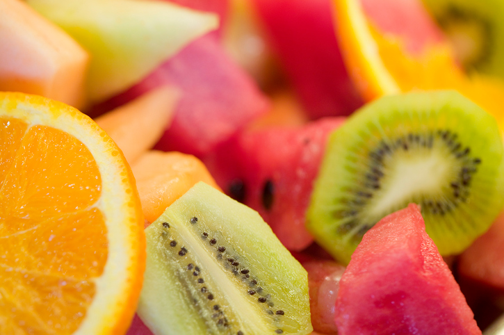 Sliced fruit