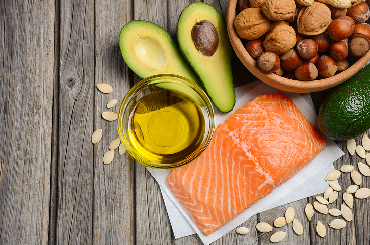 salmon and healthy fats