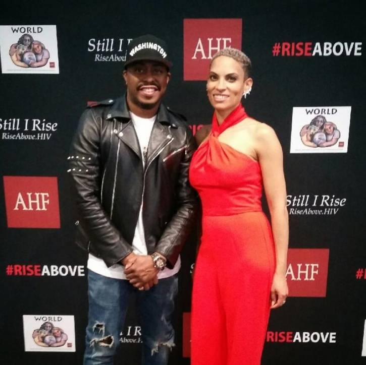 Raheem DeVaughn & Goapele Rise Above HIV