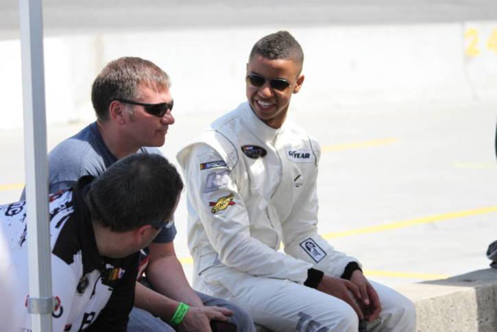 Armani Williams NASCAR autism