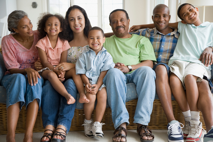 African american family generations