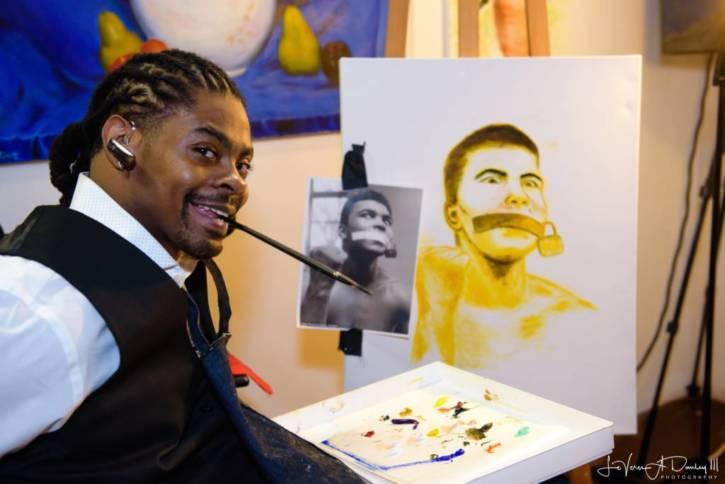 Antonio Davis Harlem Fine Arts Show