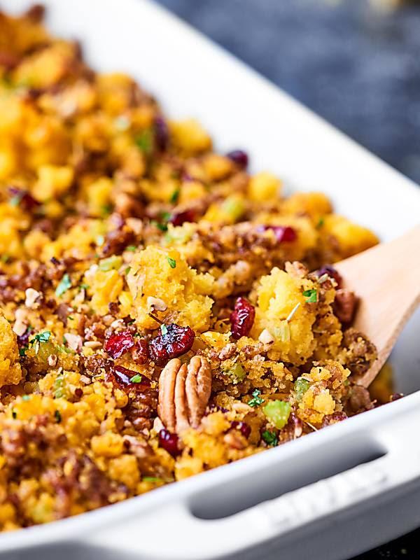 cranberry jalapeno cornbread dressing