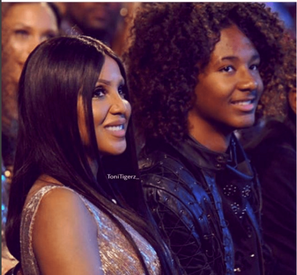 Toni Braxton's Formerly Autistic Son Now Signed Model