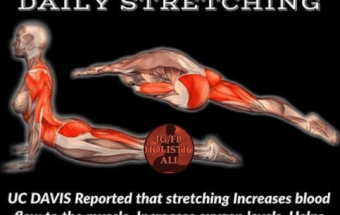 STRETCH YOURSELF — GOOD FOR YOUR BODY AND YOUR MIND